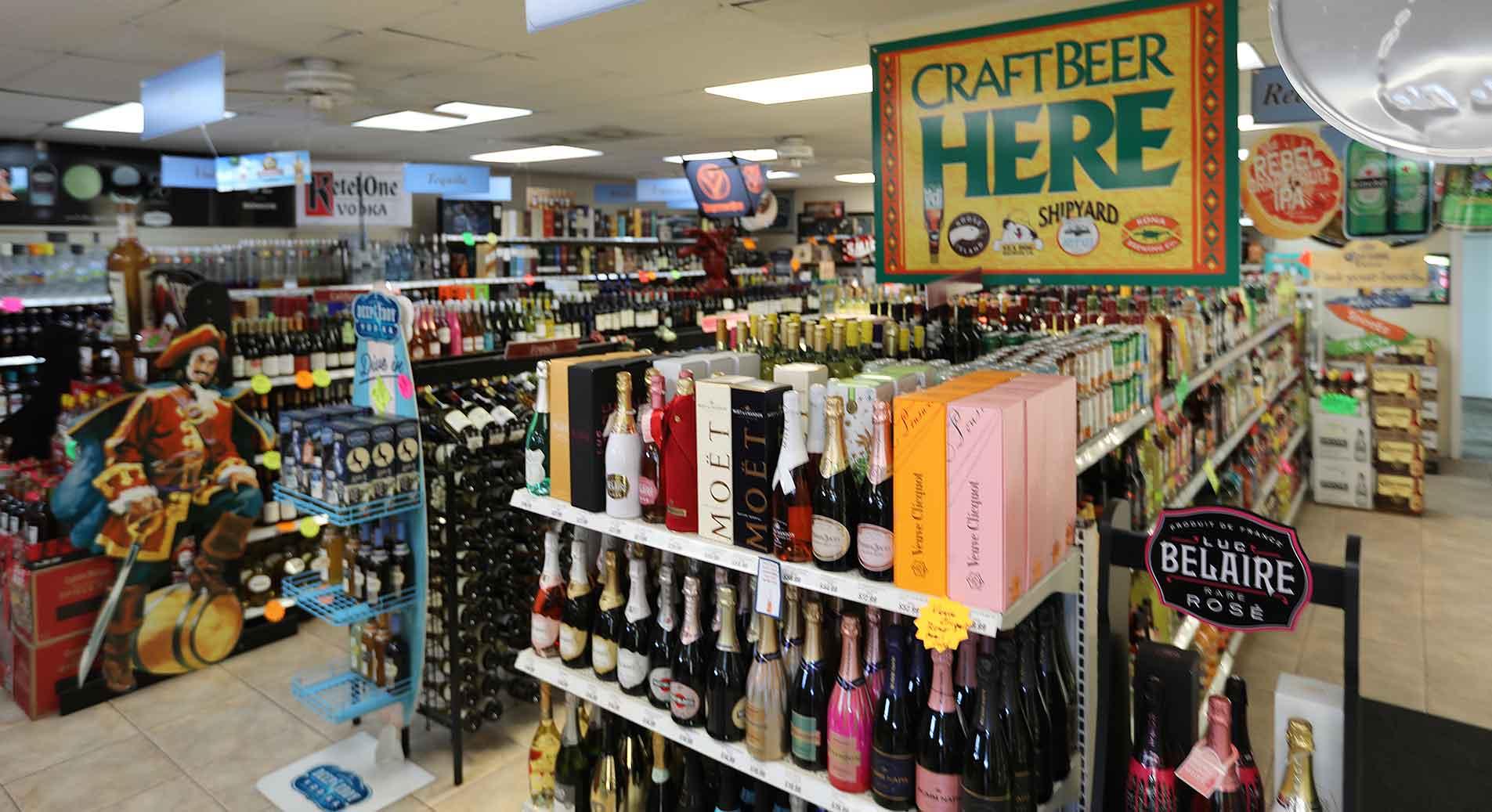 101 Liquors is Deerfield Beach's favorite Liquor Store, open late every night